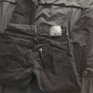 Levi's 30x32 Black Jeans